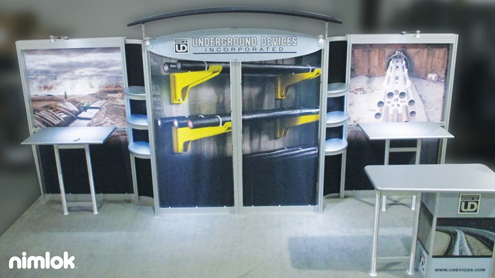 Underground Devices - 10x20 - trade show exhibit