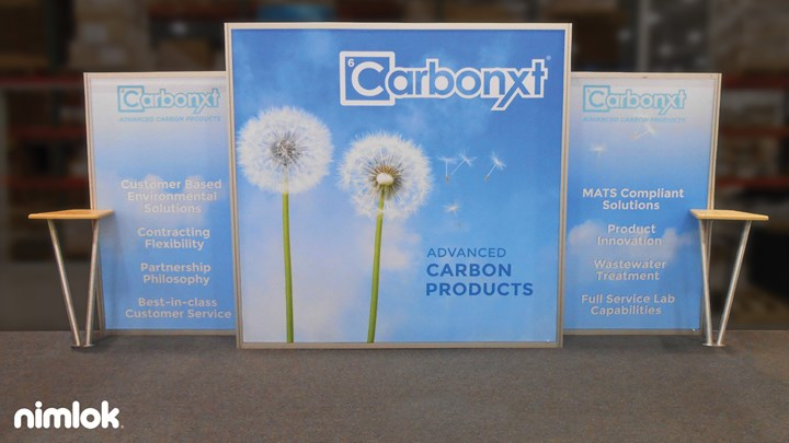 CarbonXT - 10x20 - trade show exhibit