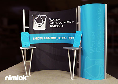 Water Consultants - 10x10 - trade show exhibit