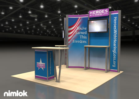 Orthalign - 10x10 - trade show exhibit