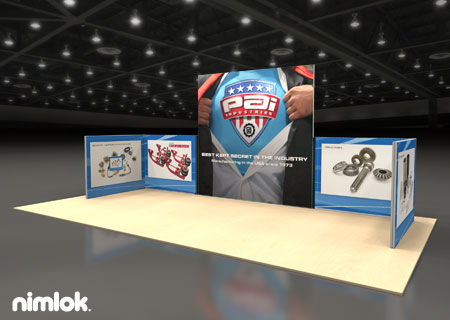 PAI  - 14x10 - trade show exhibit