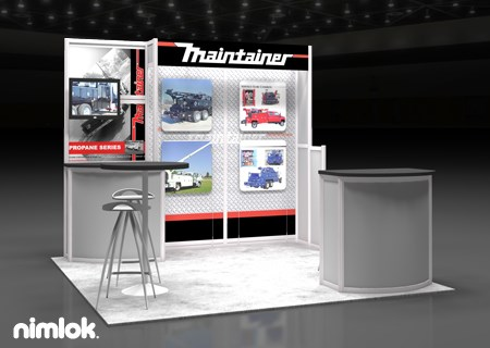 Maintainer - 10x10 - trade show exhibit