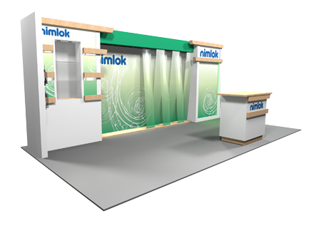 Abrams Royal Pharmacy  - 10x20 - trade show exhibit