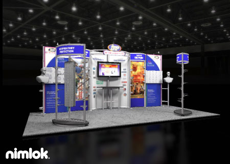 IRP Ltd - 10x20 - trade show exhibit