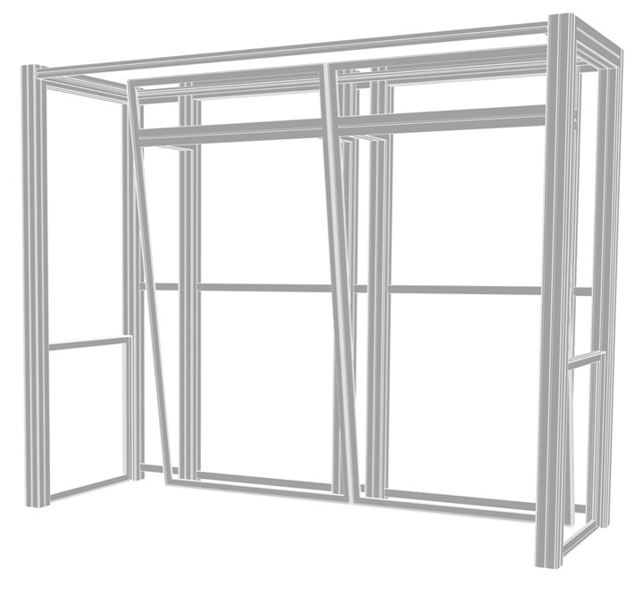 Rental 10ft Hybrid Pro Modular Kit 04 - rental display