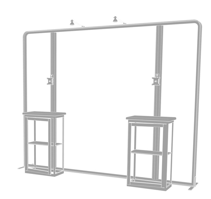 Rental 10ft Hybrid Pro Modular Kit 06 - rental display