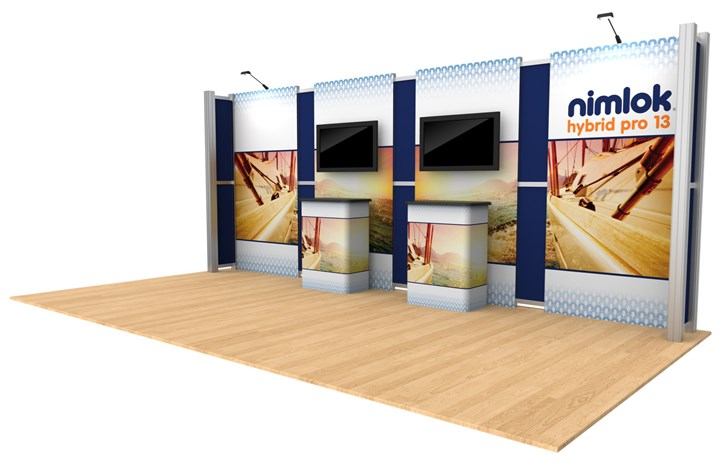 Rental 20ft Hybrid Pro Modular Kit 13 - rental display