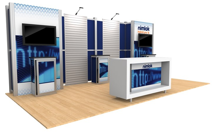 Rental 20ft Hybrid Pro Modular Kit 16 - rental display