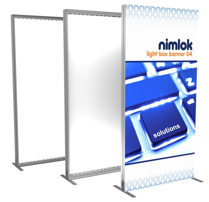 Rental SmartWall Light Box R-04 - rental display