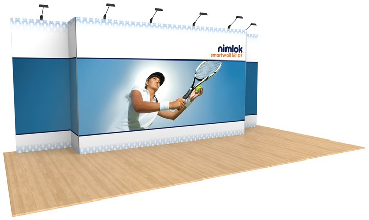 Rental 20ft SmartWall Kit 07 - rental display