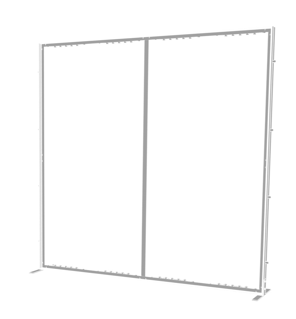Rental 10ft SmartWall Kit 15 - rental display