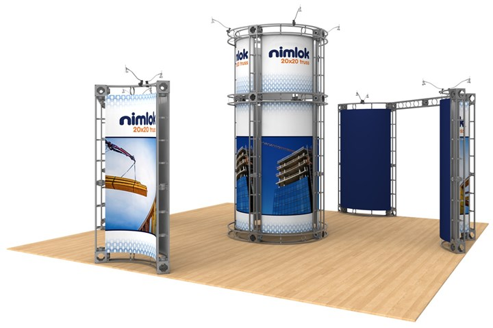 Rental 20x20 Truss Tucana - rental display