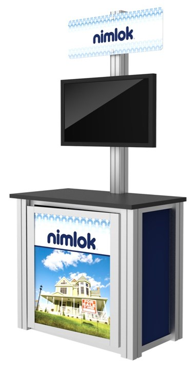 Rental Kiosk A - rental display