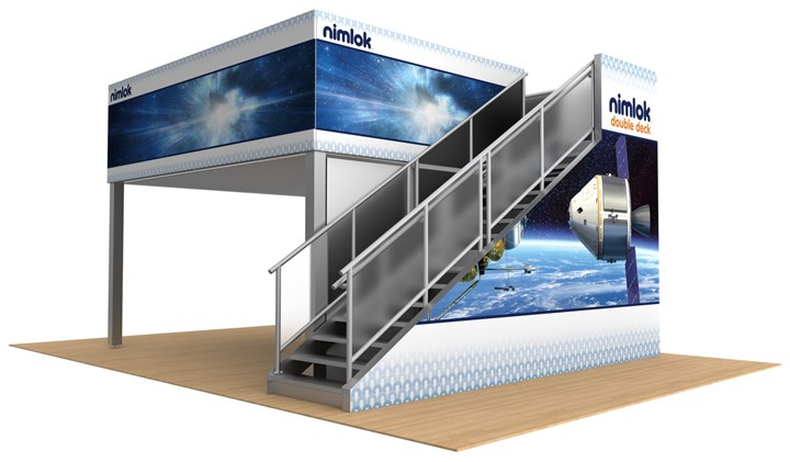 Rental Double Deck - rental display