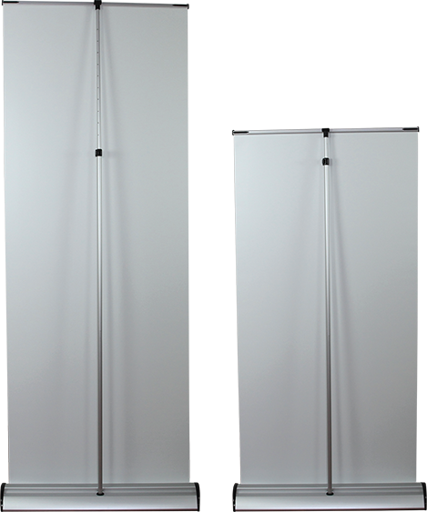 Rollup 02 Retractable Banner Stand - portable display