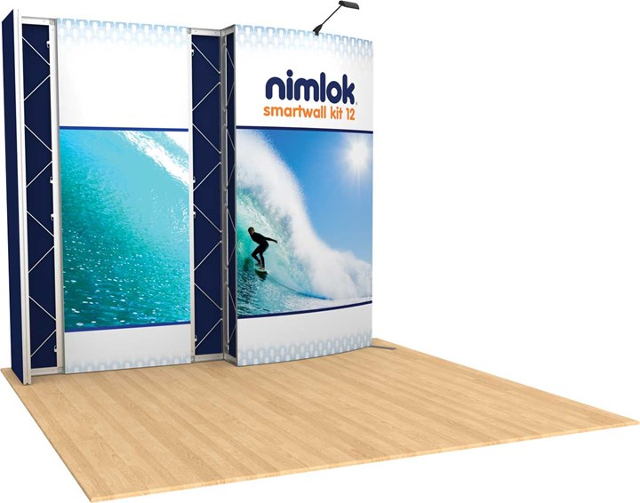 SmartWall 12 10ft Modular Display - portable display