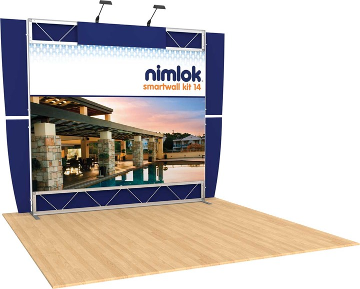 SmartWall 14 10ft Modular Display - portable display
