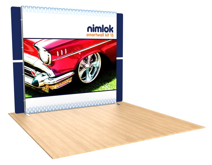 SmartWall 15 10ft Modular Display - portable display