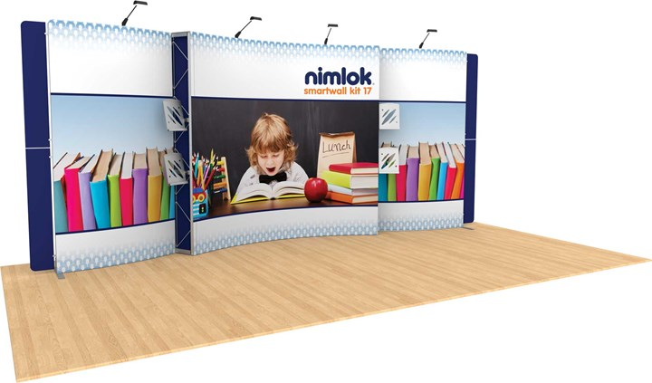 SmartWall 17 20ft Modular Display - portable display