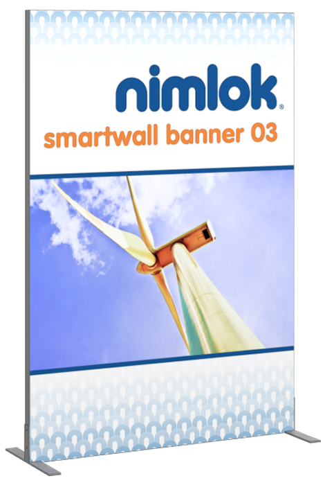 SmartWall Banner R-03 Tension Fabric Display - portable display