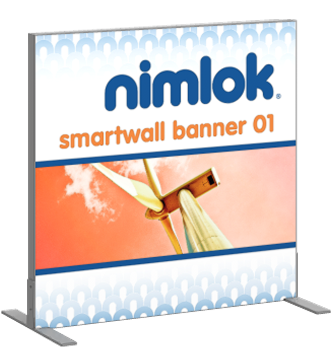 SmartWall Banner S-01 Tension Fabric Display - portable display