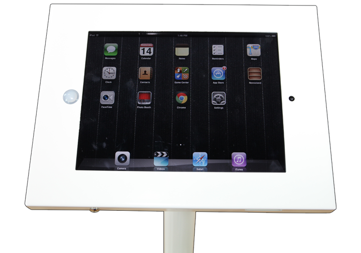 Freestanding iPad Stand - portable display
