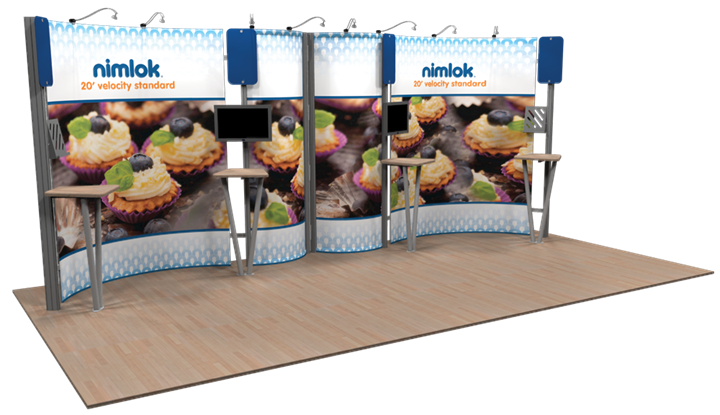 Velocity Standard 02 20ft Modular Display - portable display